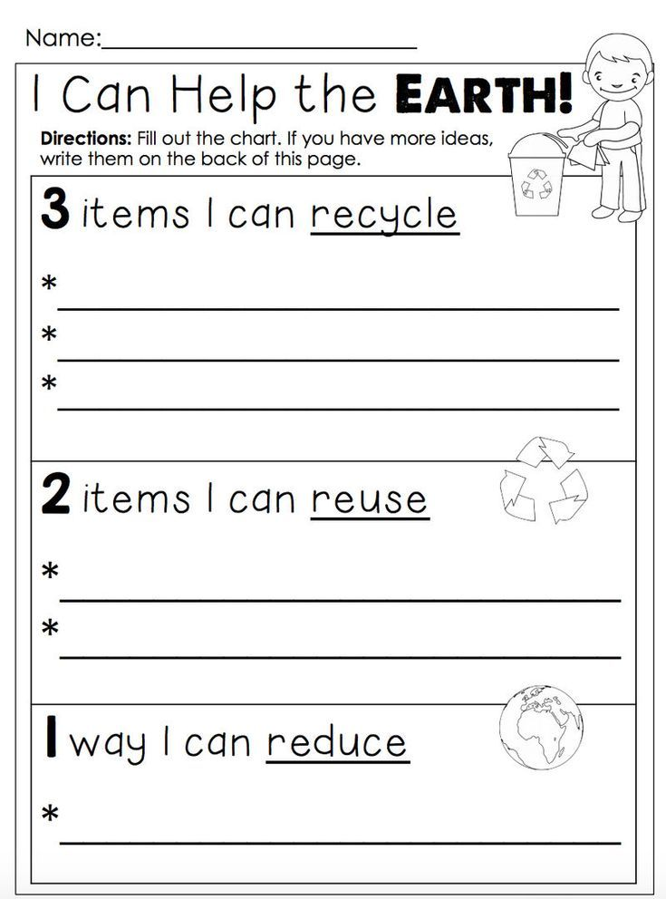 Earth Day Worksheet In 2020 Earth Day Worksheets Earth Day