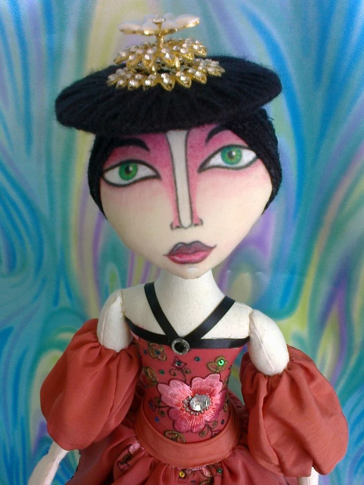 cloth doll grunge style