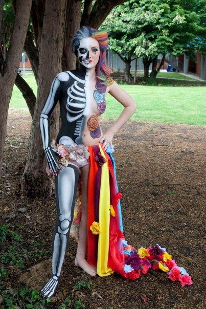 Beautiful Body Painting Pictures from World Body Painting Festival - 9