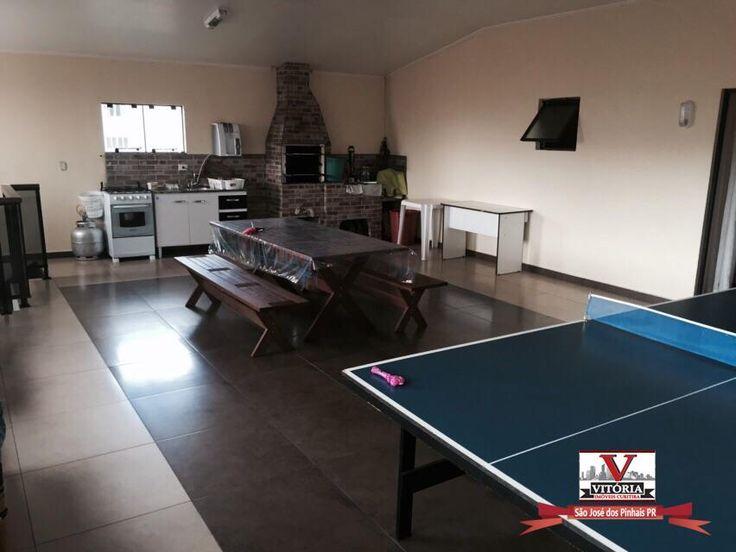 Sobrado residencial à venda, Centro, São José dos Pinhais - SO0208.