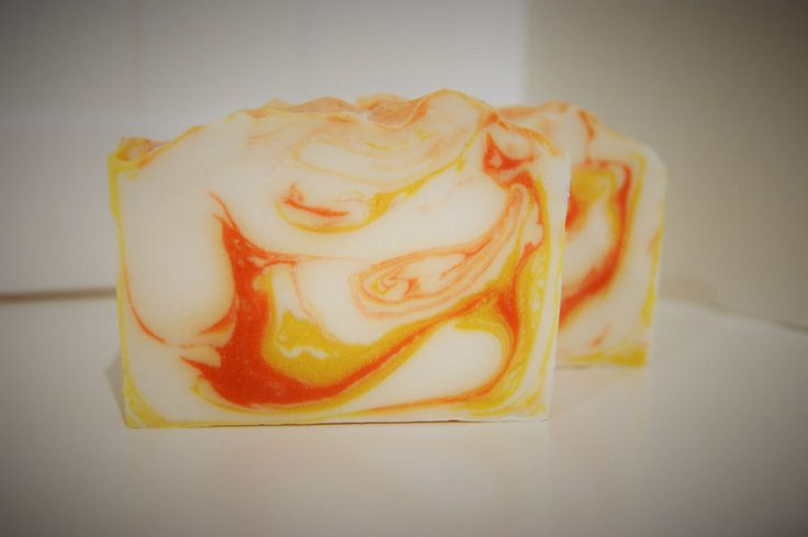 Sunrise soap,  handmade soap, natural soap, australian soap, Shae Scentials, cold process soap, cocoa butter by ShaeScentials on Etsy