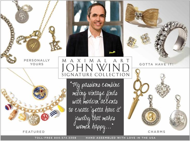 I <3 John Wind jewelry! Last Easter the Hubs gifted me a JW bracelet.