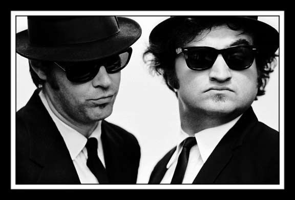 It's 106 miles to Chicago, we got a full tank of gas, half a pack of cigarettes, it's dark... and we're wearing sunglasses.