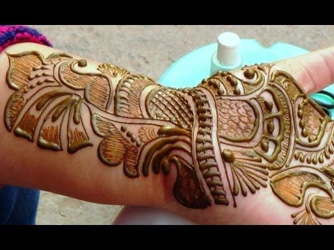 Arabic Mehndi Tutorial : Best floral mehndi designs collection with videos nidhi s art