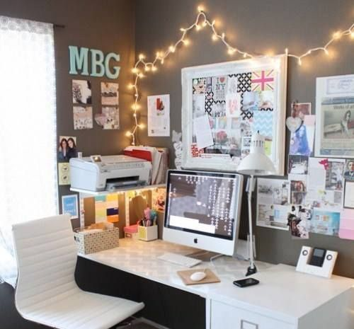 82 best chic office u0026 desk images on pinterest accent wall colors bright walls and color of the year