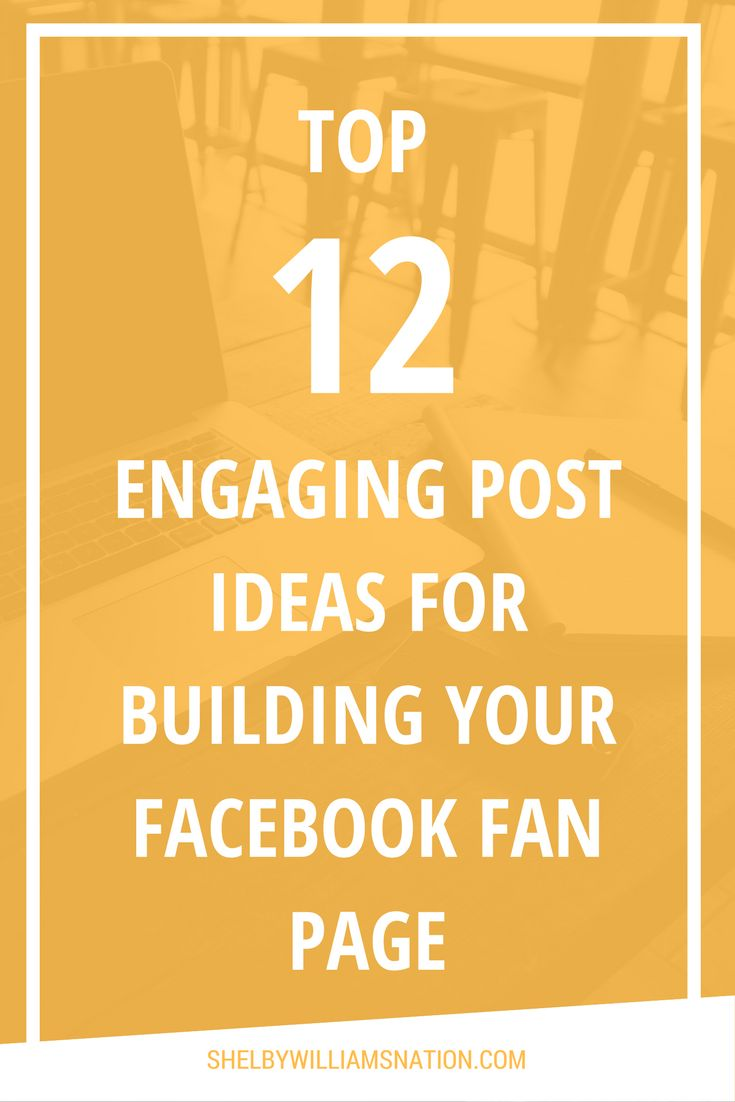 You unsure of what to post on your Facebook fan page or other social media platforms? Here is 12 AWESOME Post Ideas that will create a following of red hot prospects and leads!