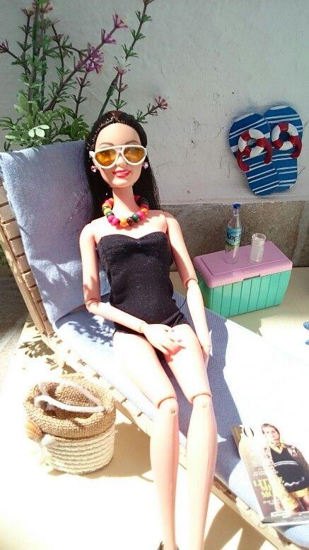 Barbies summer holidays 🐚 🐚 🐚