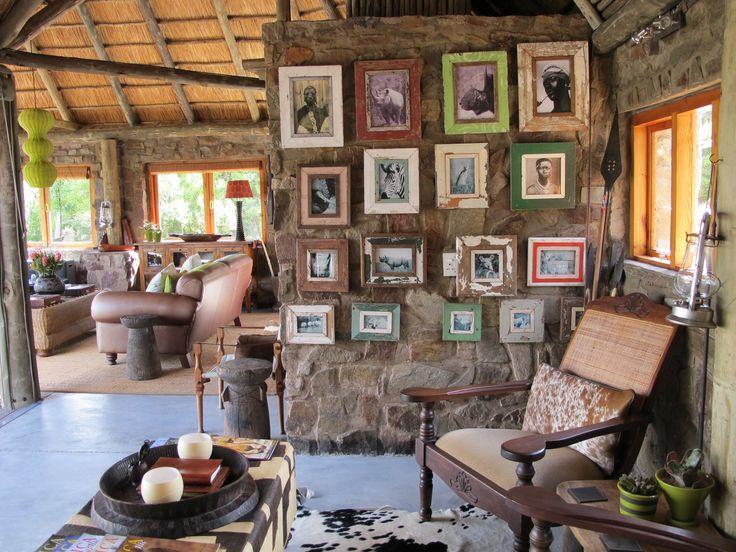 Lounge Area at HillsNek Safari Camp