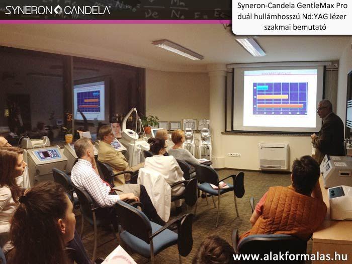 Hamish McNair, a Syneron-Candela vállalat alkalmazás specialistája mutatta be a Candela GentleMax Pro -val elérhető kezelési eredményeket. #syneron #candela #centerkft #laser #orvosi http://alakformalas.hu/Hirek-erdekessegek/candela-piacnyito-orvosi-rendezvenyrol.html