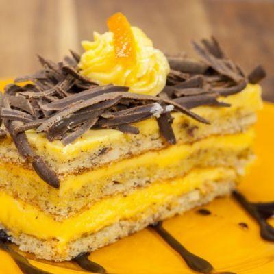 Lemon Poppy Cake With Zesty Orange Curd Filling Recipe
