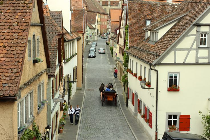 The best preserved medieval town, Rothenburg - May 17 2014