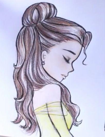 Drawing princess Bella