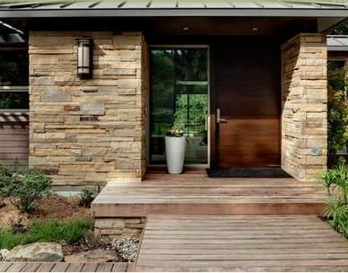 35 best images about puertas entrada on pinterest front for Disenos de puertas de madera