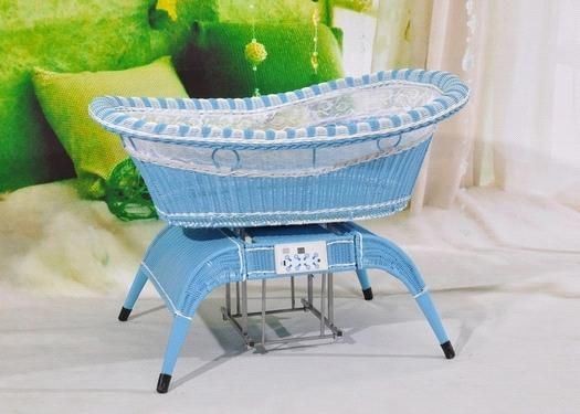 voice control baby swing bed (06s_blue) - China baby bed, SUPER