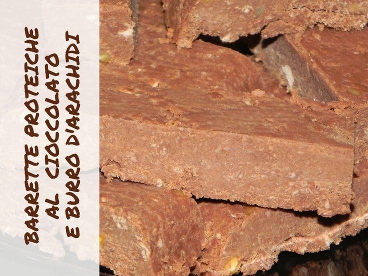 BARRETTE PROTEICHE al cioccolato e burro d'arachidi VEGAN