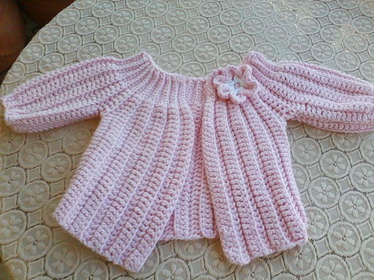 βελονακι ζακετα crochet jacket