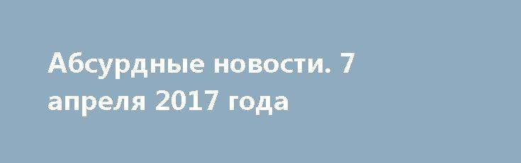 Абсурдные новости. 7 апреля 2017 года http://rusdozor.ru/2017/04/08/absurdnye-novosti-7-aprelya-2017-goda/  Добрый вечер! Как и обычно в это время, предлагаю вам немного отвлечься от дел рутинных и обсудить некоторые события и происшествия, имевшие место быть в течение уходящего дня. Начнем? Первое место. Разумеется Трамп. Трамп, Трамп и только Трамп. Его демонстрация ...