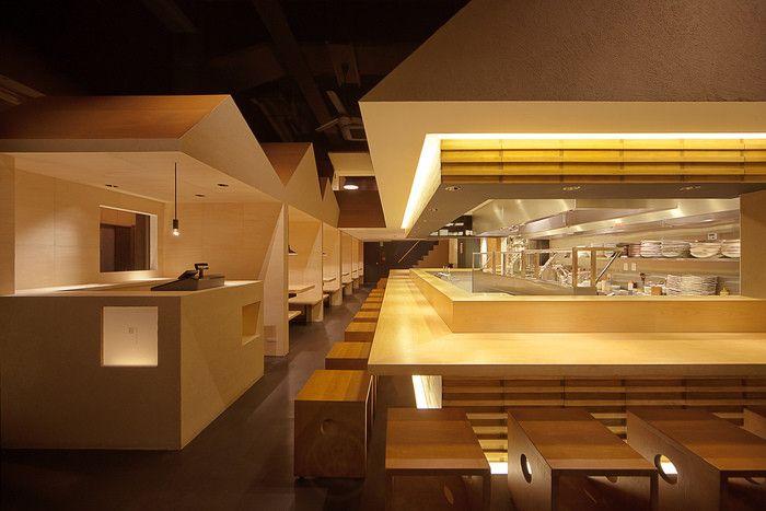 2013 Restaurant & Bar Design Award Winners,Asia (Restaurant): Shyo Ryu Ken (Japan) / Stile. Image