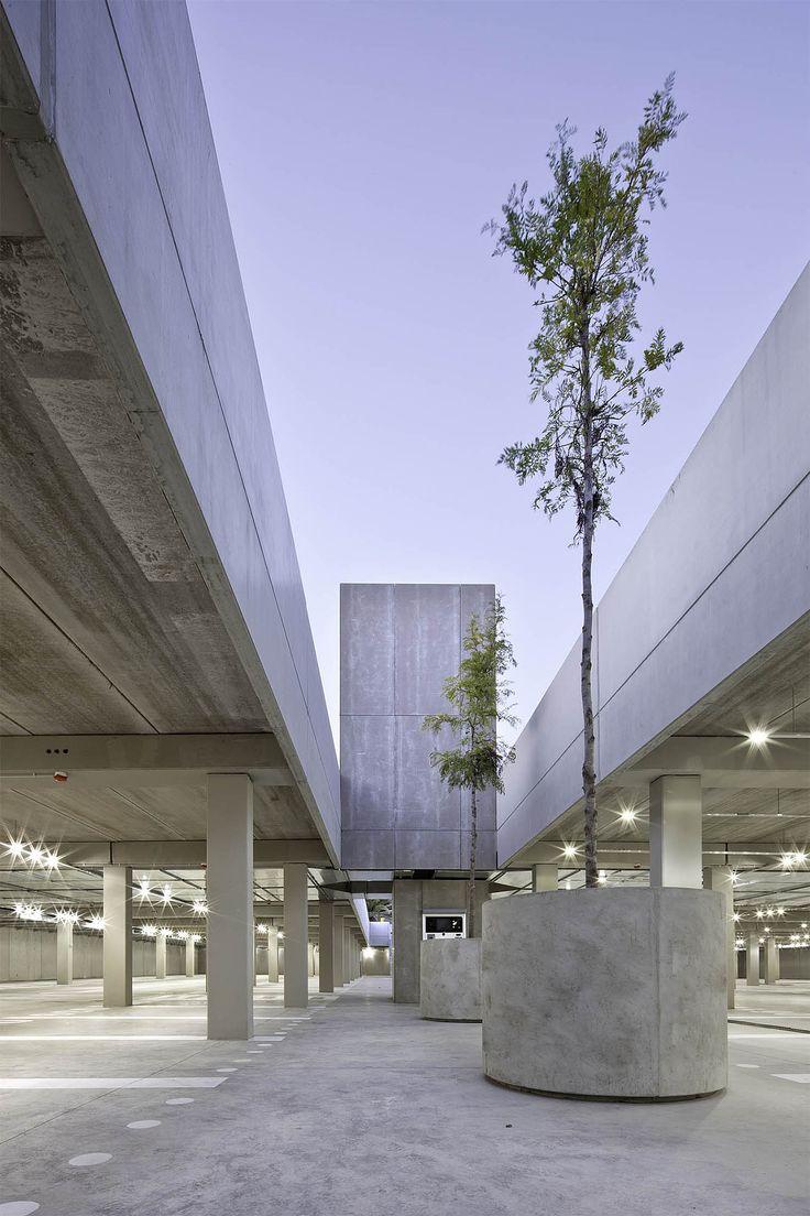 """Parking Plaça d'Europa, Marià Castelló Martínez  ––––––  Marià Castelló Martínez  Parking Plaça d'Europa Public Infrastructure  38°43'25.3"""" N 1°27'22.9"""" E  Year : 2012 Location : Es Pujols, Spain Engineers : Xico Ribas - Héctor Martínez ..."""