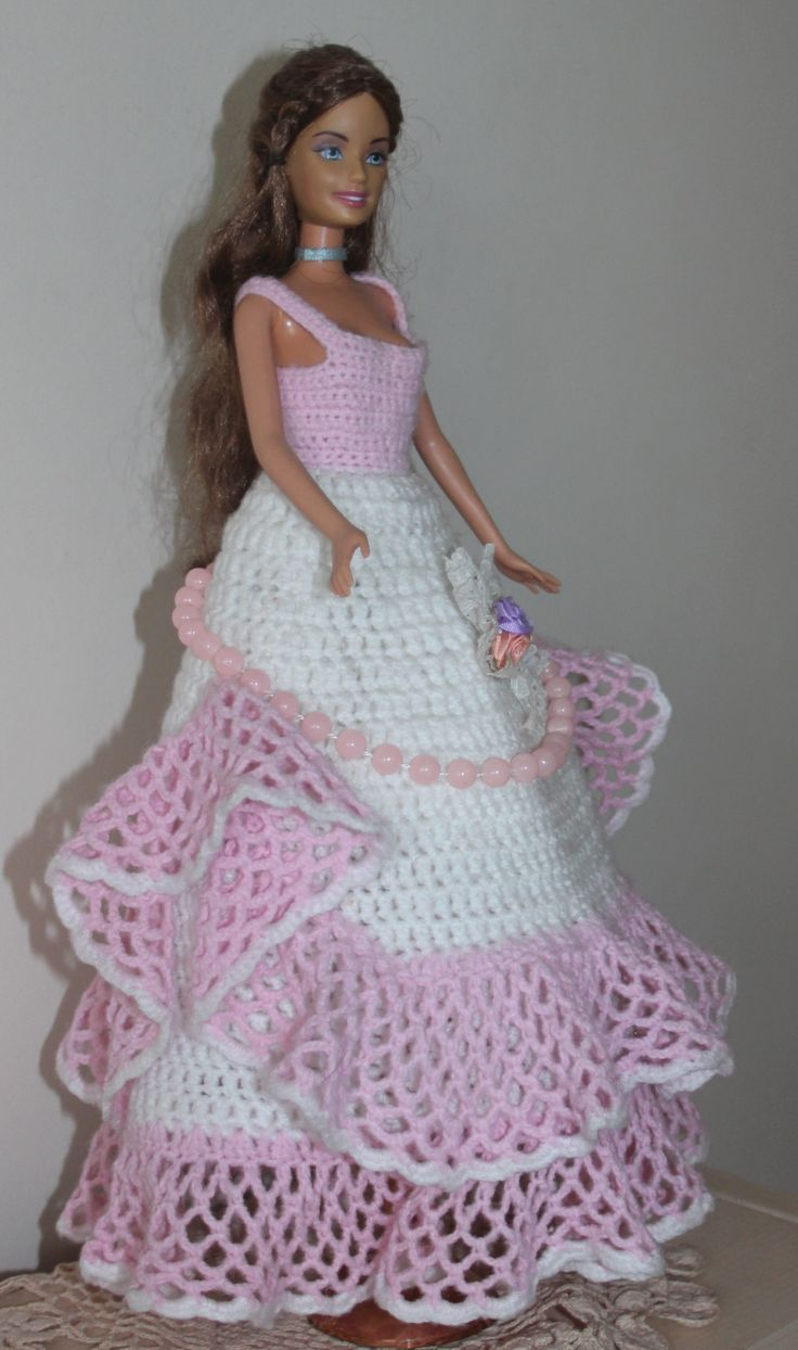 Knitting Clothes For Barbie Dolls : I made this for my daughter s doll agnieszka dalmata quot