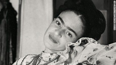 Frida Kahlo is the subject of a new book containing never-before seen pictures of the late painter's private life.