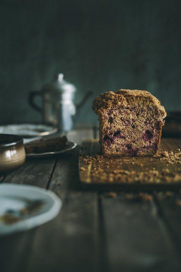 Raspberry Muffin Bread | Souvlaki For The Soul