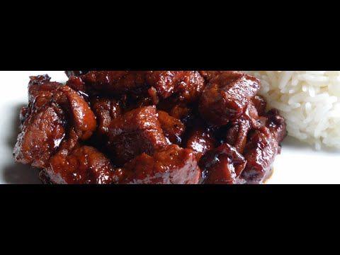 """Babi Kecap Recipe"" ""Stewed Pork in Soy Sauce"" ""Meat Recipes""                   https://www.youtube.com/user/MaharajaXpress"