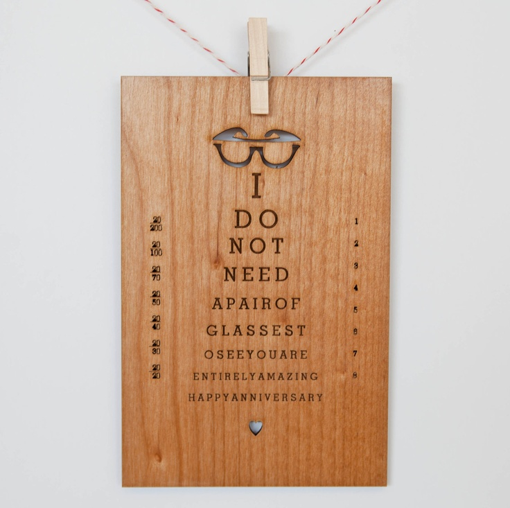 You Are Entirely Amazing Anniversary Wood Card