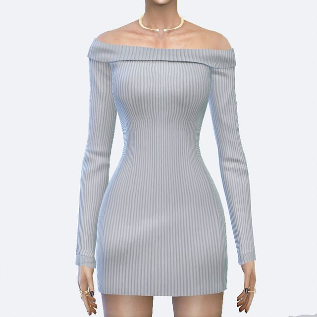 Sims 4 CC's - The Best: Dress by Toksik