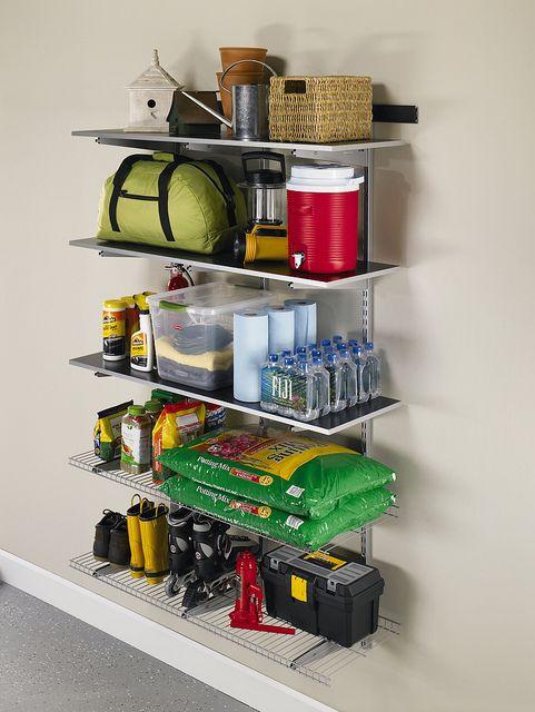 Rubbermaid FastTrack Garage Organization System - a set on Flickr