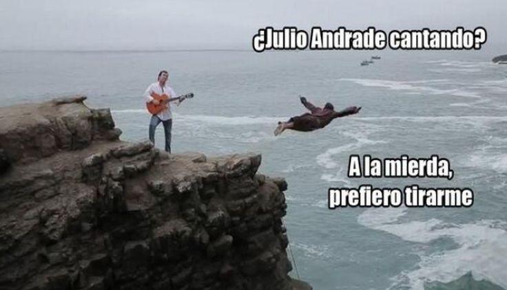 Cibernautas vacilaron a Julio Andrade por su nueva canción. #Trome