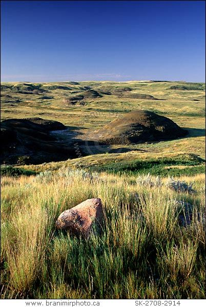 Kildeer Badlands, Grasslands National Park, Saskatchewan