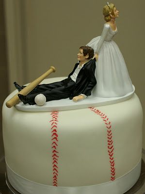 baseball themed wedding | Pace Of Cakes: Baseball Theme Wedding Cake