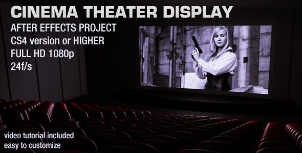 Cinema Theater Display