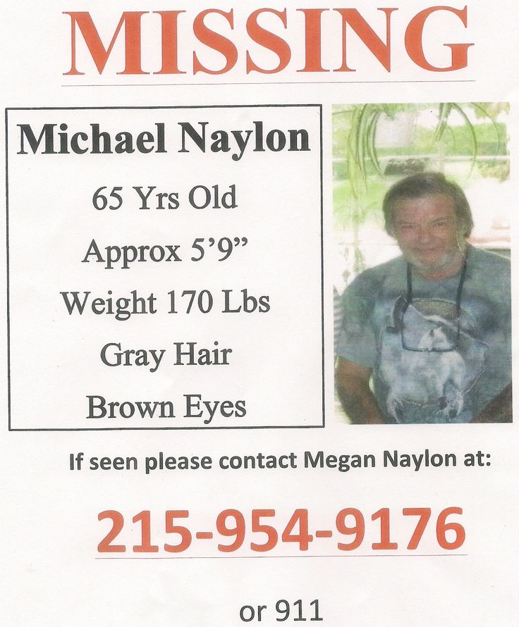 Missing Dad in Bucks County, PA - Newtown area near Tyler State Park - help if you can