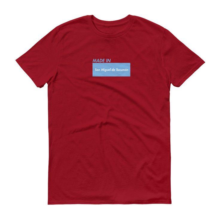 Made in San Miguel de Tucumán - Short sleeve t-shirt