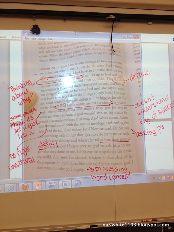 Teaching Teens in the 21st: Before the School Year Begins... Have students annotate a text and present their annotations to the class.