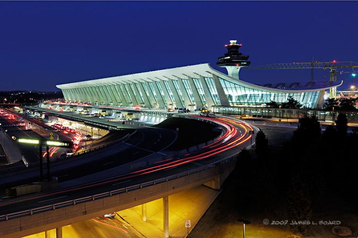 IAD - Washington Dulles International Airport is located 26 miles from downtown Washington, DC in Chantilly, Virginia, USA