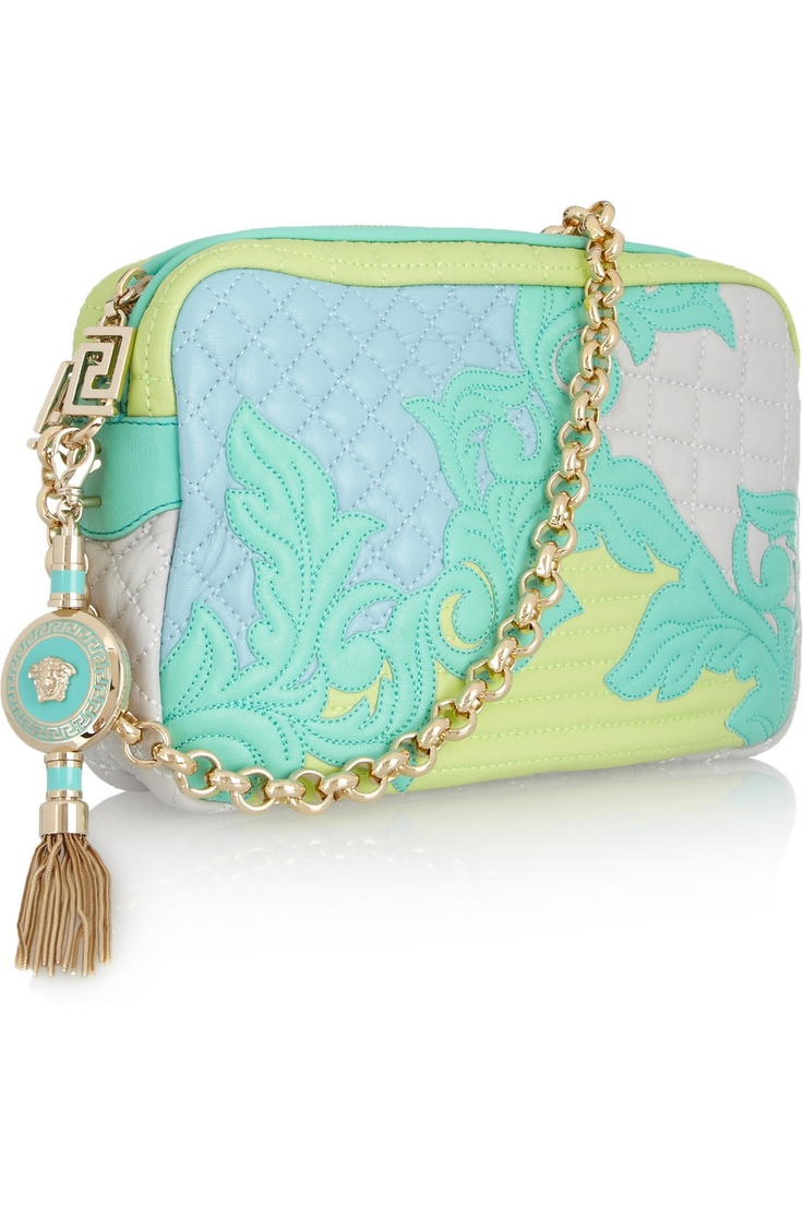 Versace Quilted Leather Shoulder Bag -   It'll only happen in my dreams but it sure is beautiful!