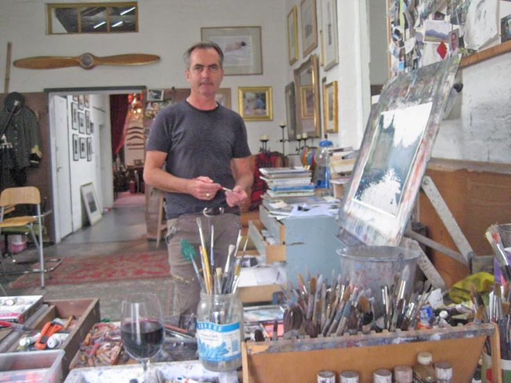 background and studio page of Joseph Zbukvic, watercolor master painter from Melbourne, Australia