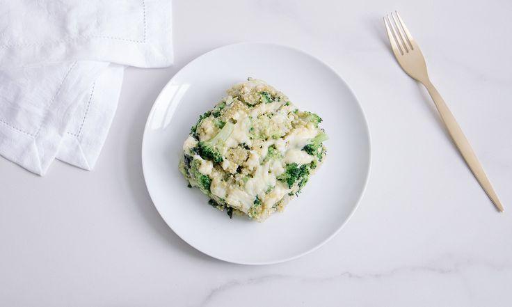 Cacerola de Brócoli con Quinoa