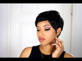 HOW TO PIXIE CUT   27 PIECE QUICK WEAVE – YouTube #27piecehairstyles HOW TO PIXI…