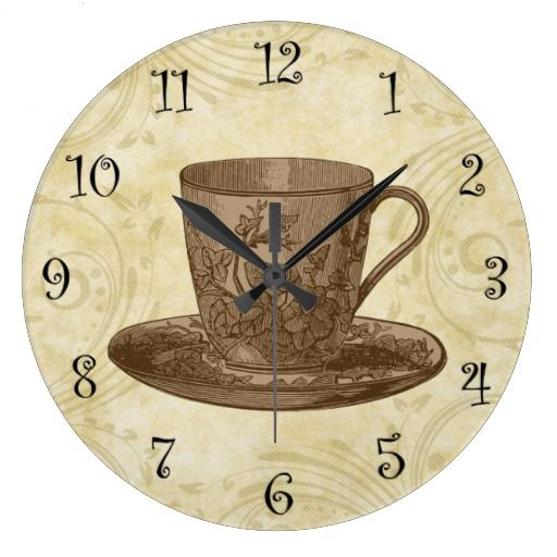 17 best ideas about kitchen wall clocks on pinterest - Small kitchen clock for wall ...