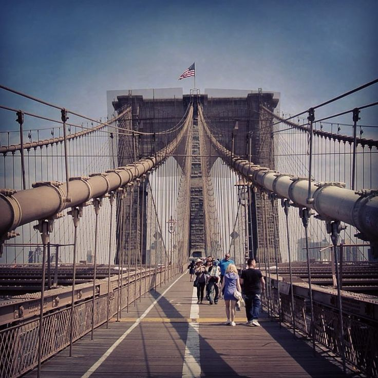 Brooklyn Bridge - nobody thought it would stand. For a while, people could buy it for 1$. Majestic!