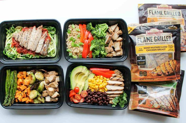These 5 Chicken Meal Prep Bowls recipes are a quick and easy way to meal prep for healthy lunches and dinners all week!