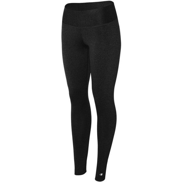 Plus Size Champion Absolute Workout Fitted Tights ($33) ❤ liked on Polyvore featuring plus size women's fashion, plus size clothing, plus size activewear, plus size activewear pants, black, plus size, champion activewear, plus size sportswear and champion sportswear