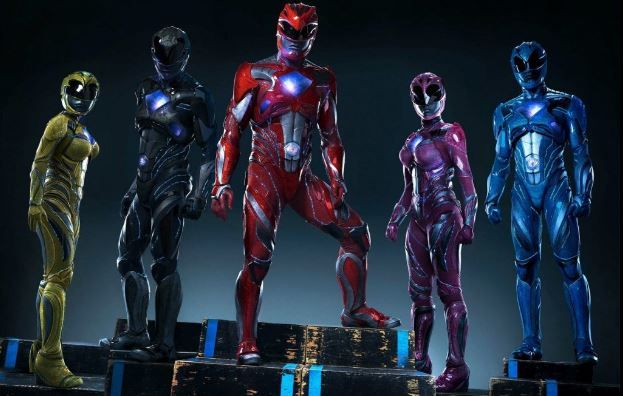 (Video) 'Power Rangers' sorprende en Comic Con de Nueva York