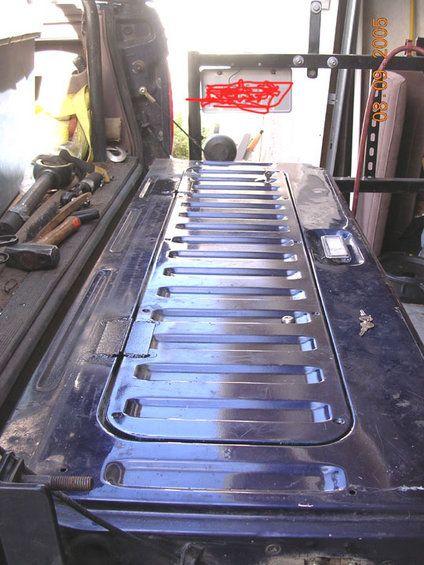 Quarter Panel Bed Seat Storage Scout Ii Pirate4x4 Com