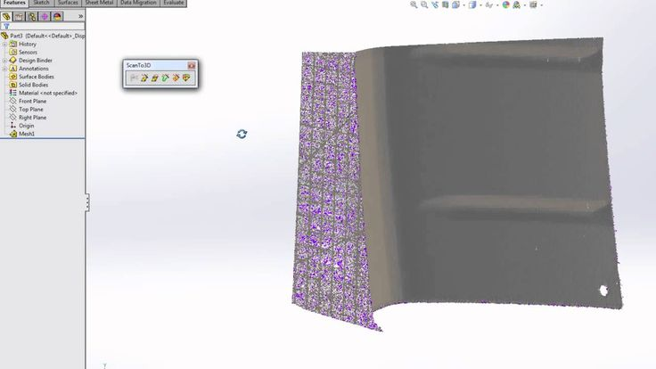 Designing With ScanTo3D And Point Cloud Data - Episode 1