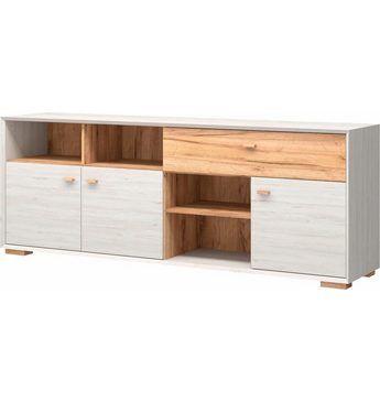 Sideboard »Calvi«, Breite 187 cm Jetzt bestellen unter: https://moebel.ladendirekt.de/wohnzimmer/schraenke/sideboards/?uid=9f5ebbd9-f801-5b25-be36-dc1c1bbdb567&utm_source=pinterest&utm_medium=pin&utm_campaign=boards #schraenke #wohnzimmer #sideboards
